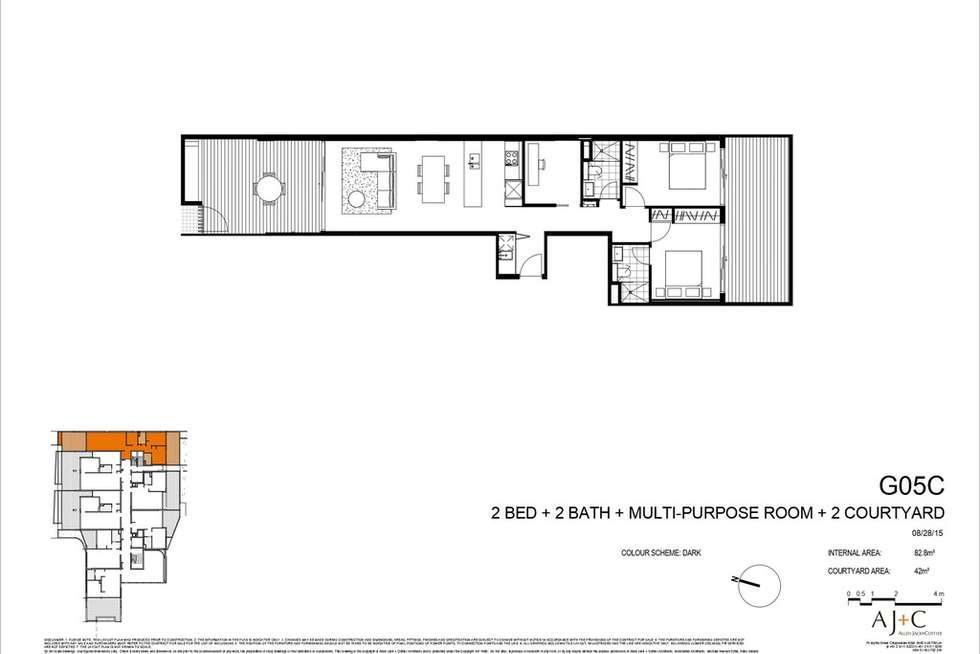 Floorplan of Homely unit listing, G05/22 Barr Street, Camperdown NSW 2050