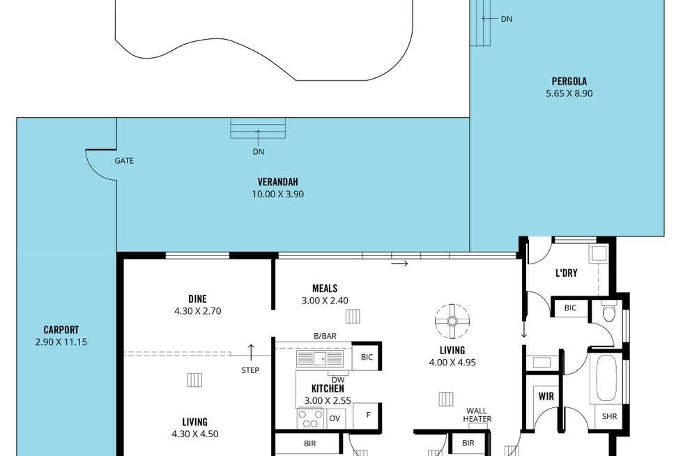 Floorplan of Homely house listing, 16 Nash Lane, Morphett Vale SA 5162