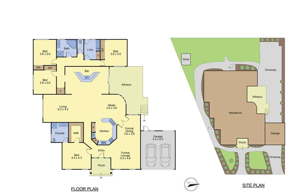 Floorplan of Homely house listing, 8 Revilo Court, Mulgrave VIC 3170