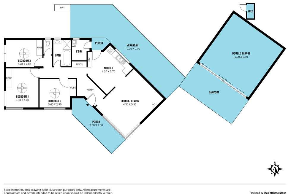 Floorplan of Homely house listing, 2 Louisa Street, Morphett Vale SA 5162