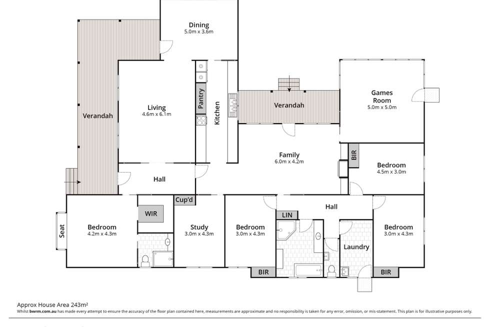 Floorplan of Homely acreageSemiRural listing, 136 West Wilchard Road, Castlereagh NSW 2749