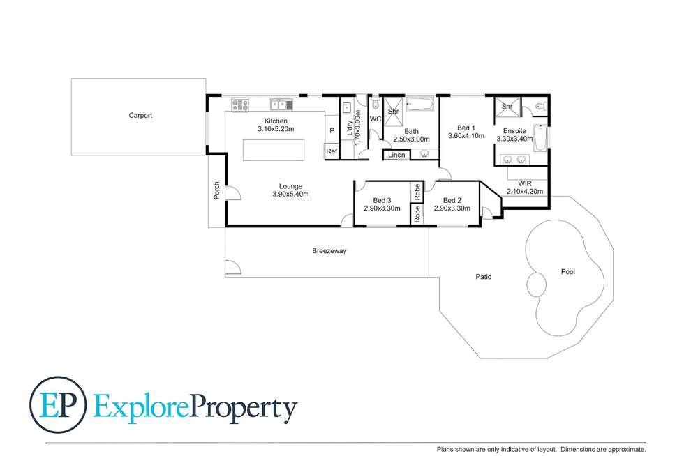 Floorplan of Homely house listing, 18 Amanda Street, Burpengary QLD 4505