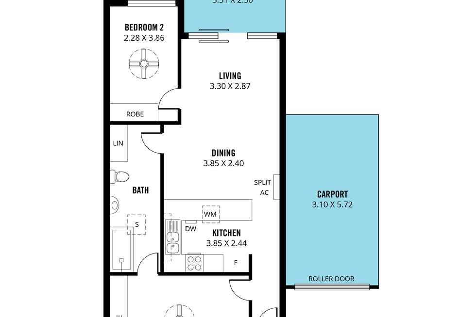 Floorplan of Homely house listing, 4 Borroughs Street, Ridleyton SA 5008