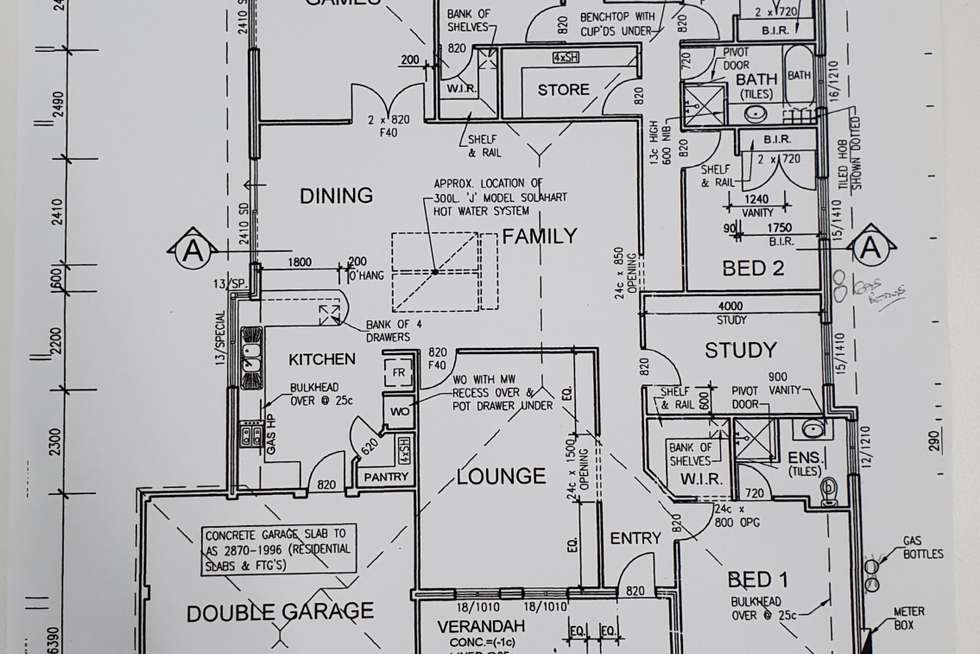 Floorplan of Homely house listing, 11 Casuarina Close, Strathalbyn WA 6530