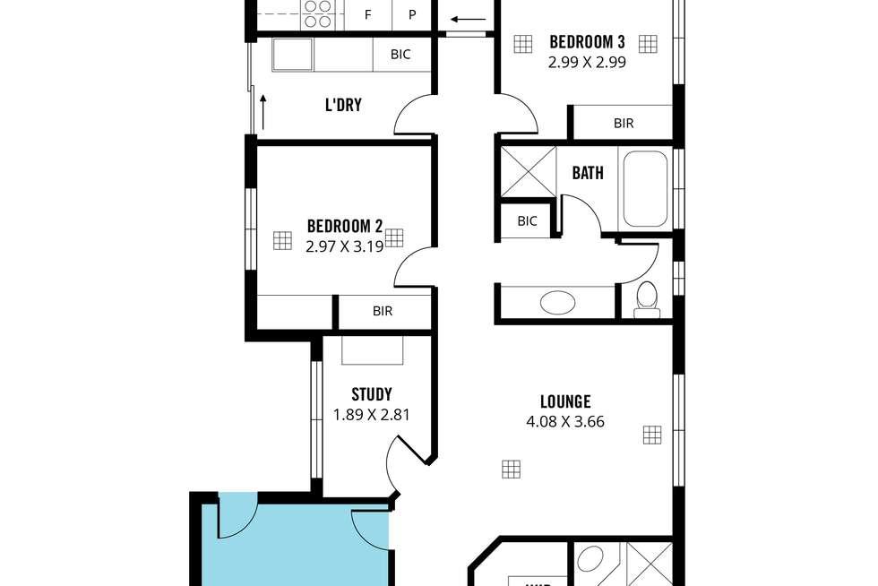 Floorplan of Homely house listing, 84 Marston Drive, Morphett Vale SA 5162