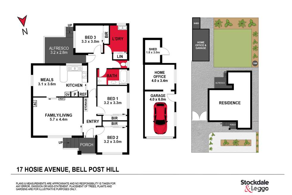 Floorplan of Homely house listing, 17 Hosie Avenue, Bell Post Hill VIC 3215