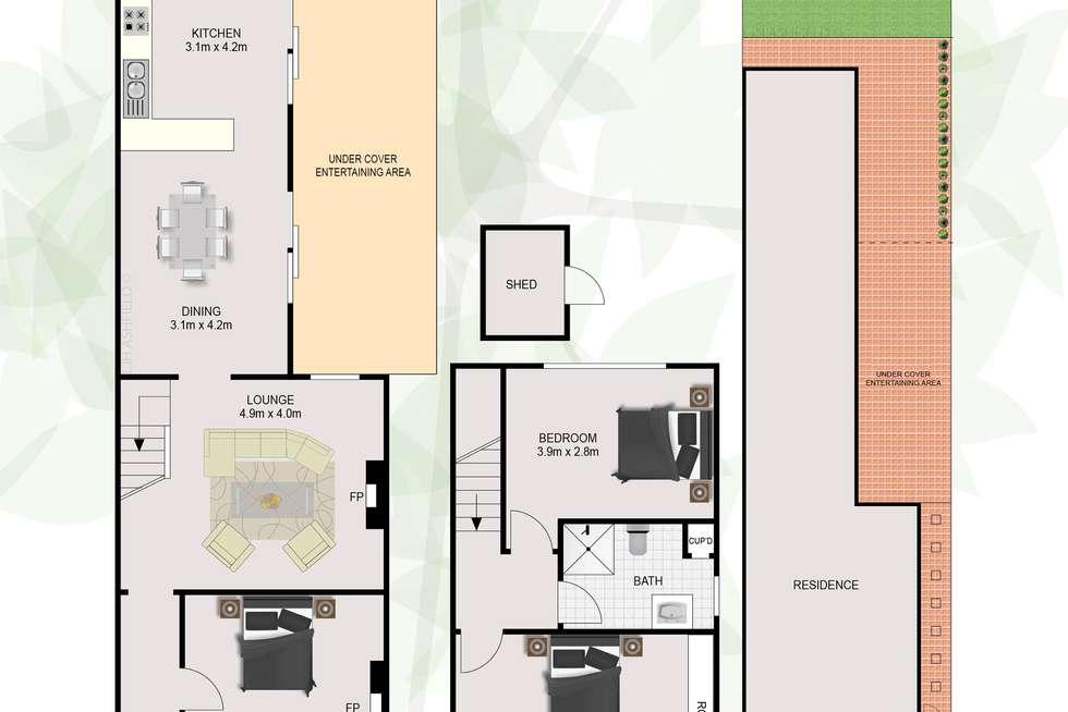 Floorplan of Homely house listing, 70 Park Avenue, Ashfield NSW 2131