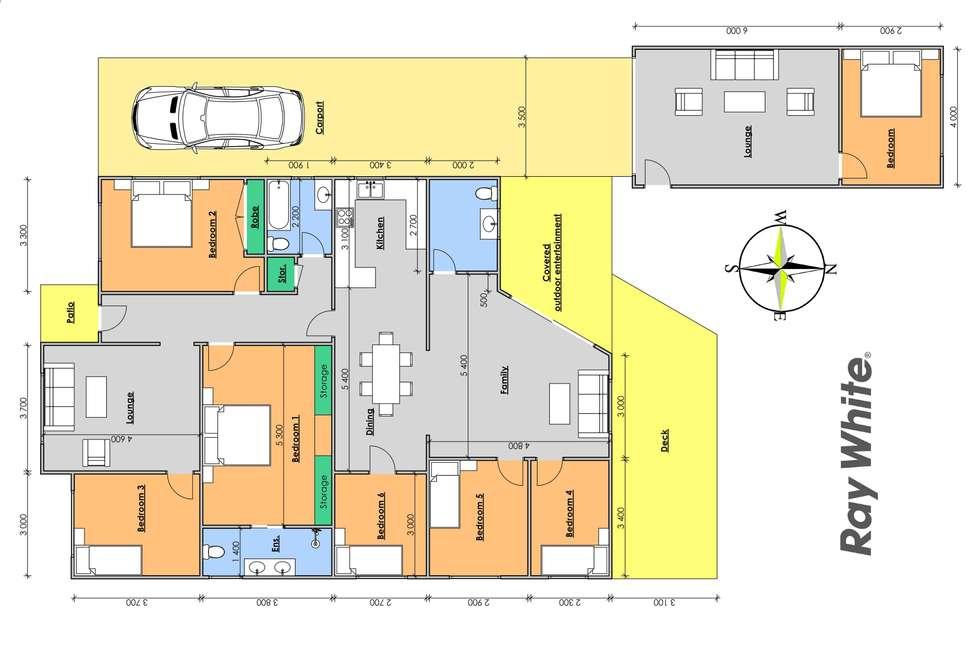 Floorplan of Homely house listing, 15 Canget Street, Wingham NSW 2429