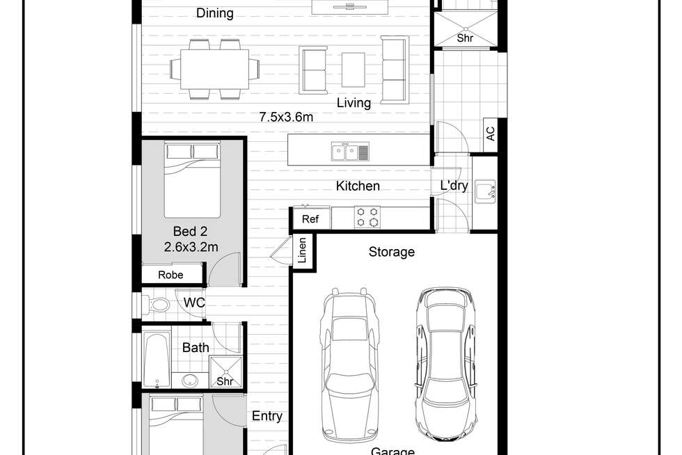 Floorplan of Homely house listing, 41 Glendower Way, Spearwood WA 6163