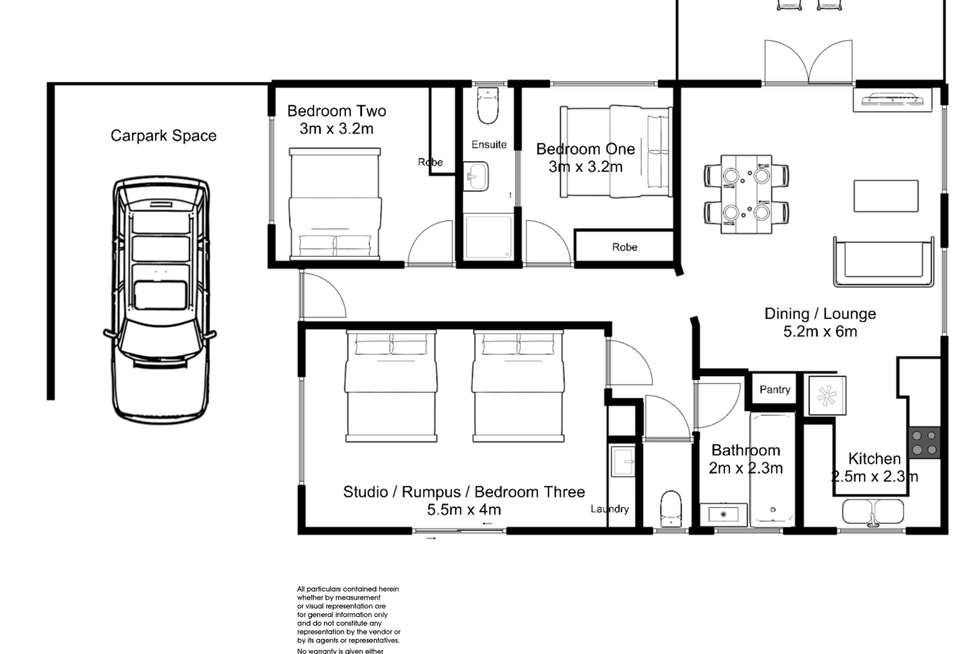 Floorplan of Homely unit listing, 12A Farmer Street, Riverside TAS 7250