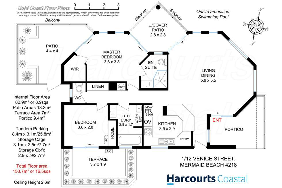 Floorplan of Homely apartment listing, 1/12-14 Venice Street, Mermaid Beach QLD 4218