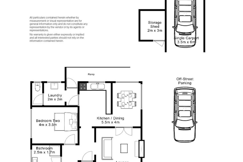 Floorplan of Homely house listing, 4 Clare St, Mowbray TAS 7248