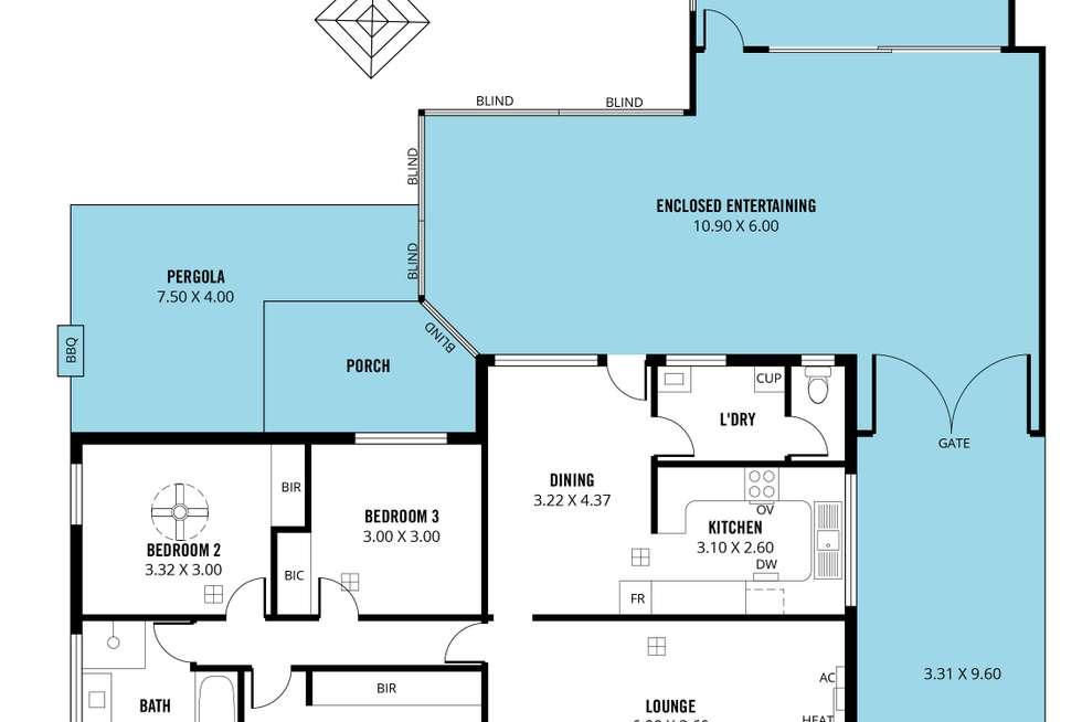 Floorplan of Homely house listing, 67 Richards Drive, Morphett Vale SA 5162