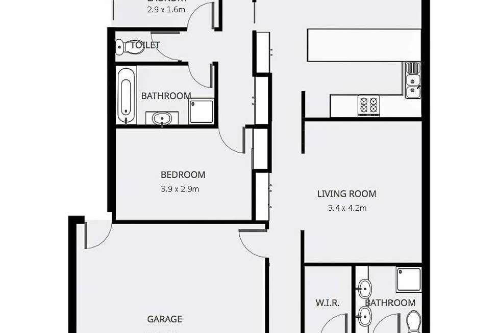 Floorplan of Homely house listing, 3 Sloane Court, Mildura VIC 3500