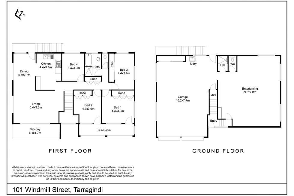 Floorplan of Homely house listing, 101 Windmill St, Tarragindi QLD 4121