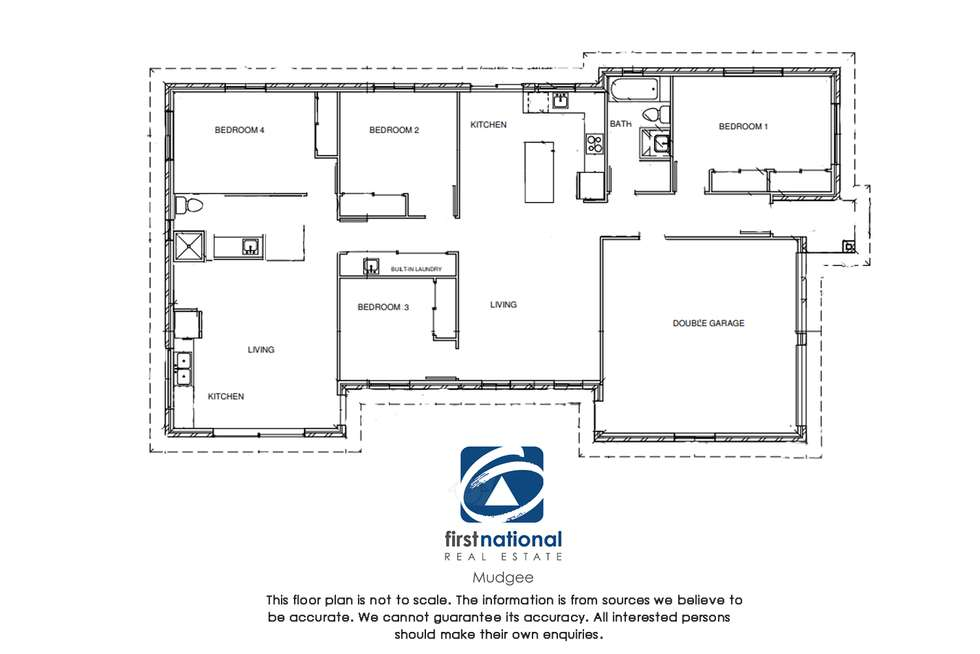 Floorplan of Homely house listing, 11 Hosking Street, Mudgee NSW 2850