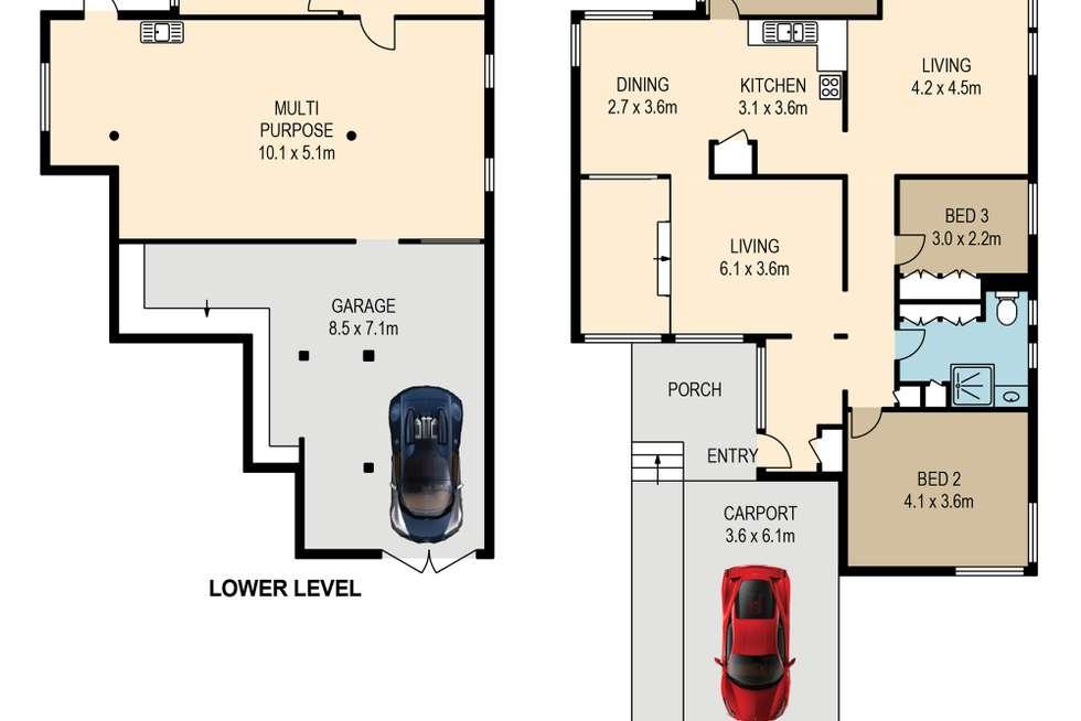 Floorplan of Homely house listing, 11 Gaynesford Street, Mount Gravatt QLD 4122