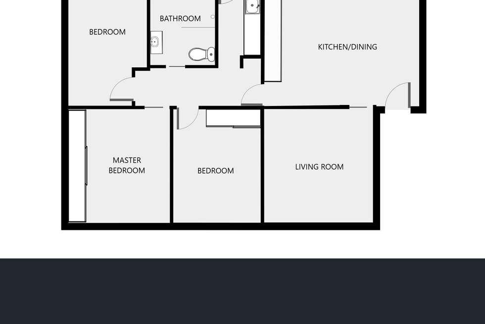 Floorplan of Homely house listing, 50 Hereford Street, Wodonga VIC 3690