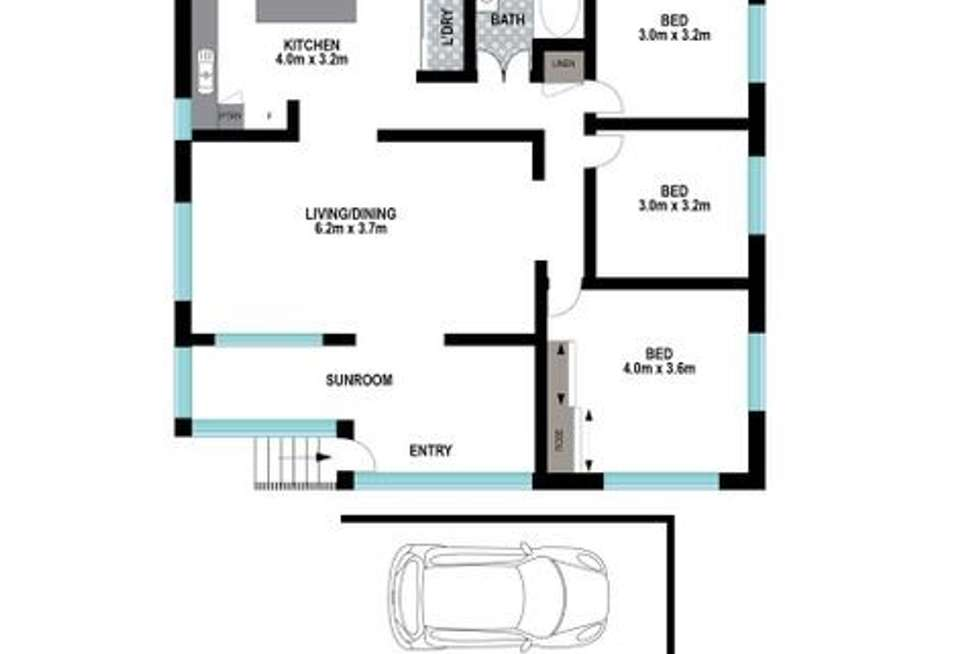Floorplan of Homely house listing, 62A Anzac Road, Carina Heights QLD 4152