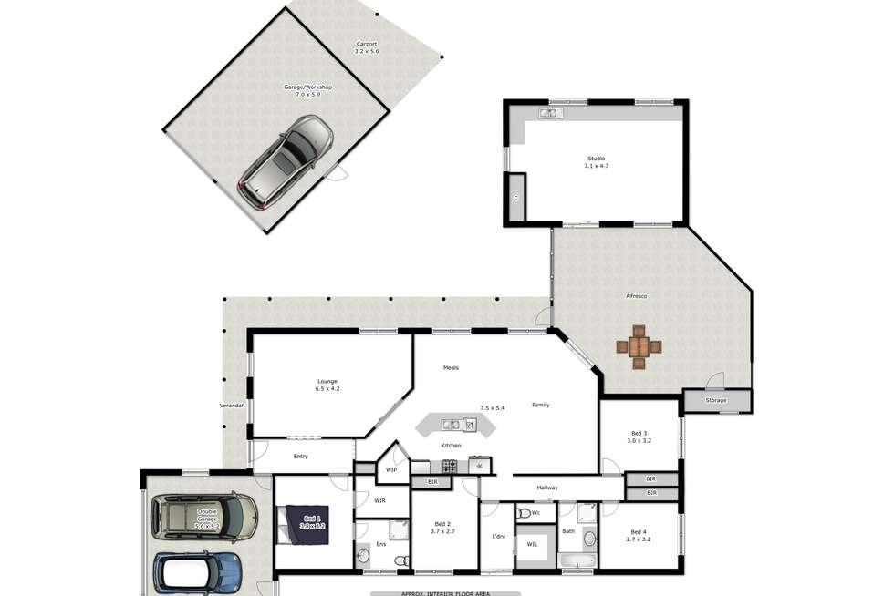 Floorplan of Homely house listing, 20 Sanctuary Boulevard, Wodonga VIC 3690