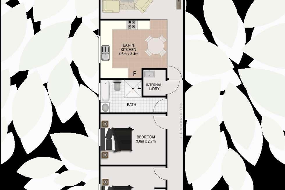 Floorplan of Homely unit listing, 8/8 Tintern Road, Ashfield NSW 2131