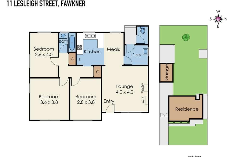 Floorplan of Homely house listing, 11 Lesleigh Street, Fawkner VIC 3060