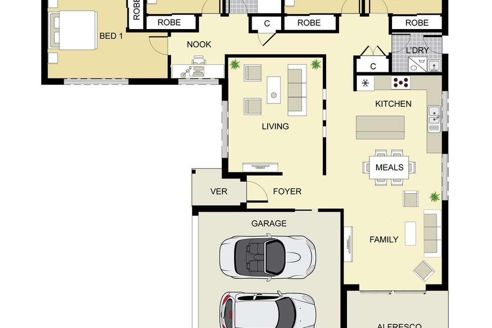 Floorplan of Homely house listing, 21A King Street, Tahmoor NSW 2573