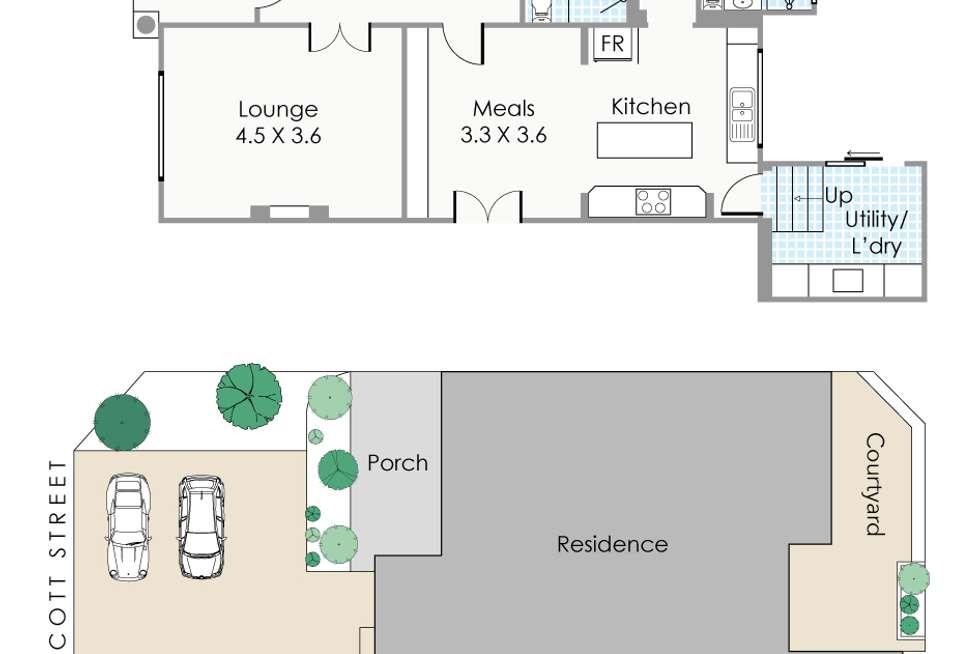 Floorplan of Homely house listing, 379 Walcott Street, North Perth WA 6006