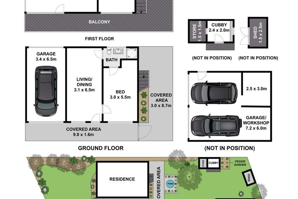Floorplan of Homely house listing, 7 Ocean Boulevard, Jan Juc VIC 3228