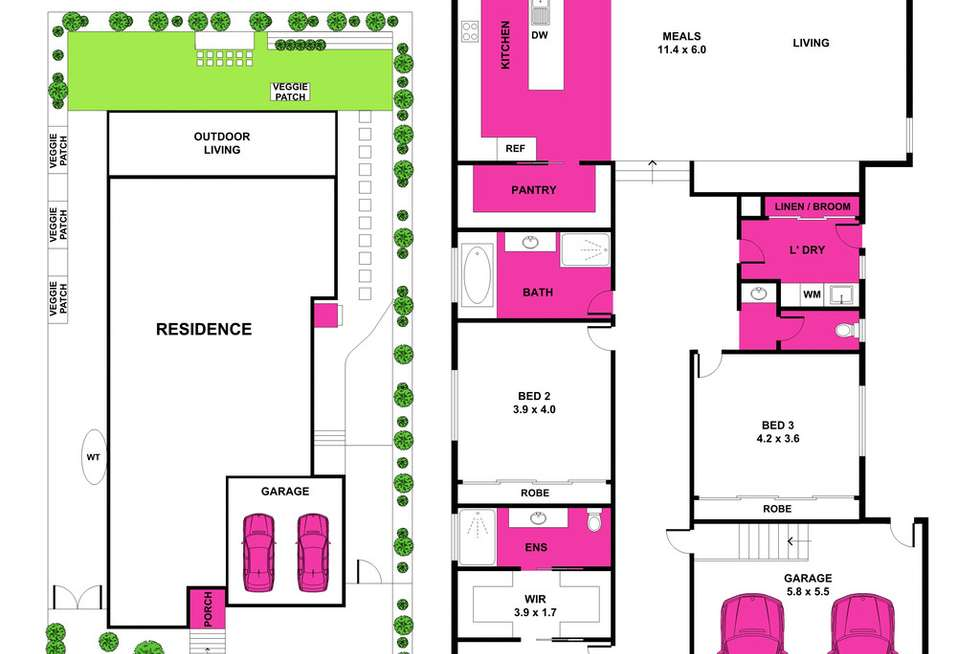 Floorplan of Homely house listing, 15 Platinum Avenue, Drysdale VIC 3222