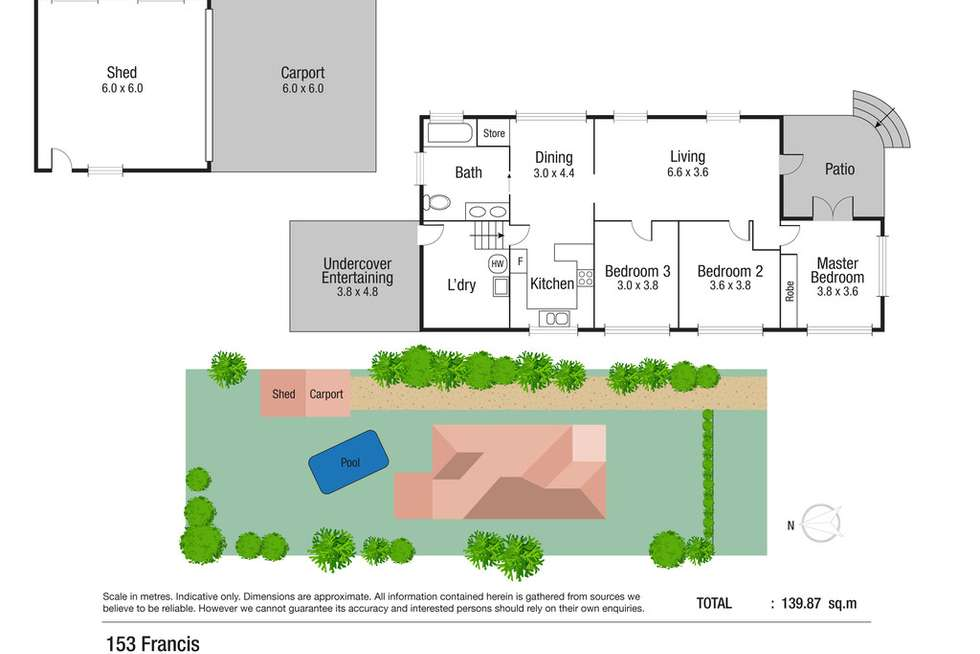 Floorplan of Homely house listing, 153 Francis Street, West End QLD 4810