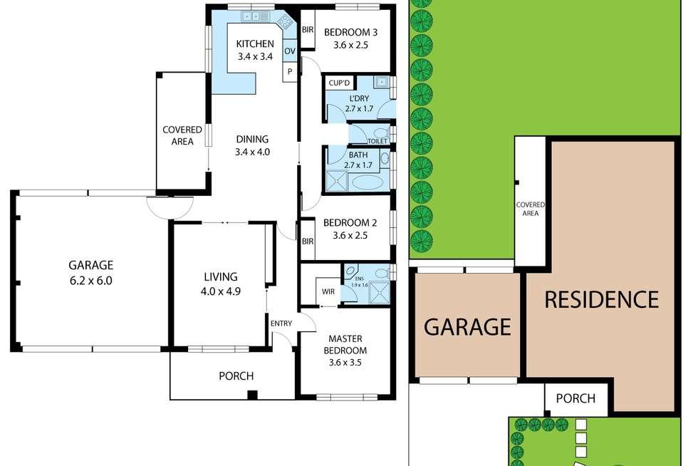 Floorplan of Homely house listing, 24 Jeeralang Avenue, Newborough VIC 3825