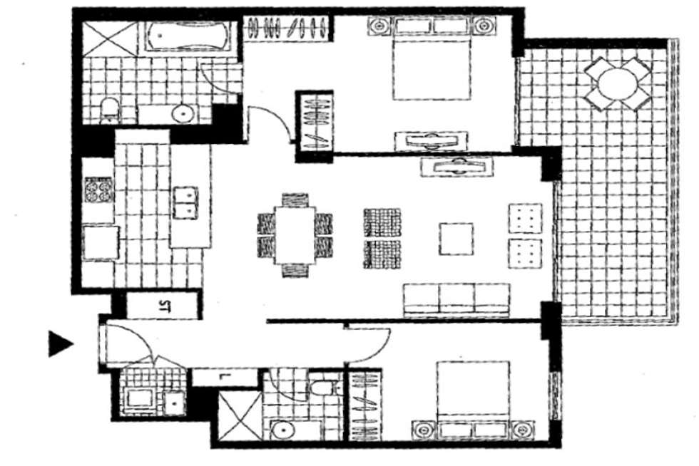 Floorplan of Homely apartment listing, 608/19 Shoreline Drive, Rhodes NSW 2138