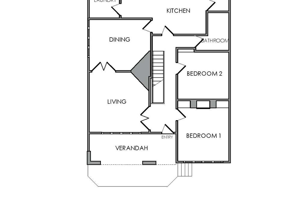 Floorplan of Homely house listing, 25 Tasma Street, East Launceston TAS 7250