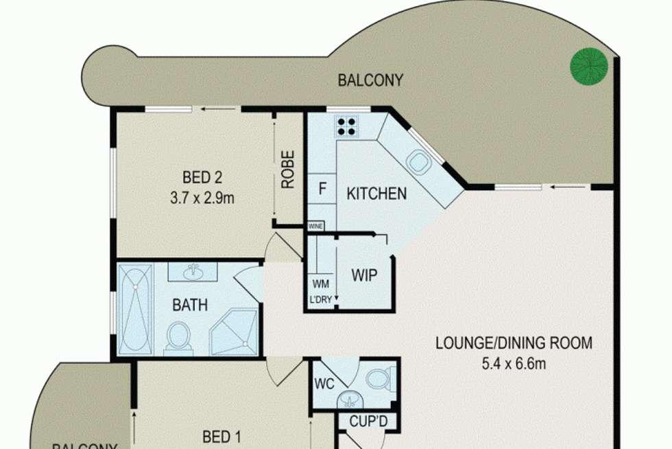 Floorplan of Homely unit listing, 14/65 Meehan Street, Granville NSW 2142