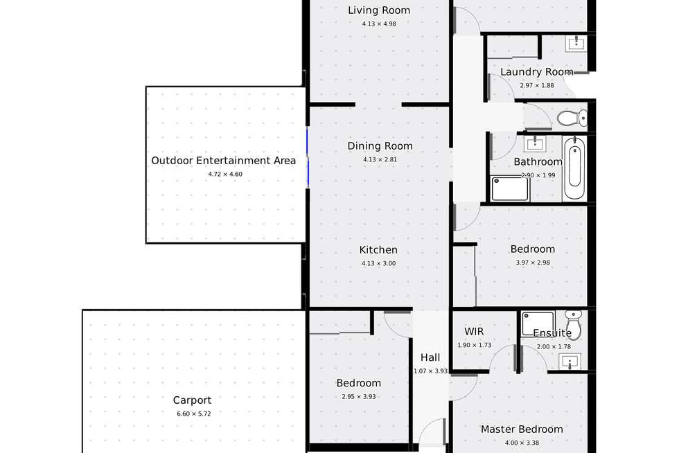 Floorplan of Homely house listing, 7 King Street, Rochester VIC 3561