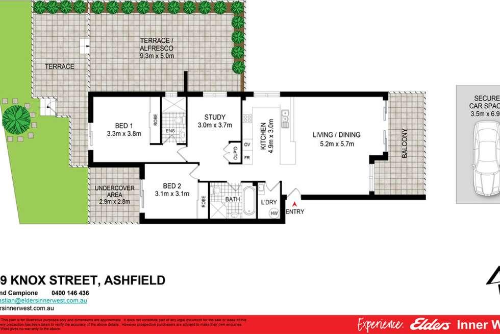 Floorplan of Homely unit listing, 8/5-9 Knox Street, Ashfield NSW 2131