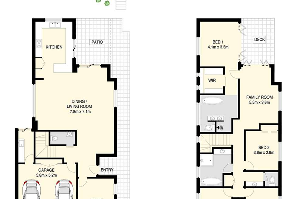 Floorplan of Homely house listing, 17 Jay Street, Red Hill QLD 4059
