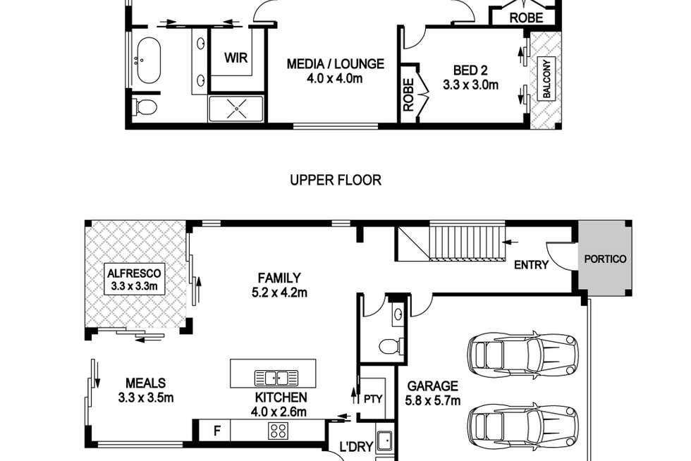 Floorplan of Homely house listing, 52b Chepana Street, Lake Cathie NSW 2445