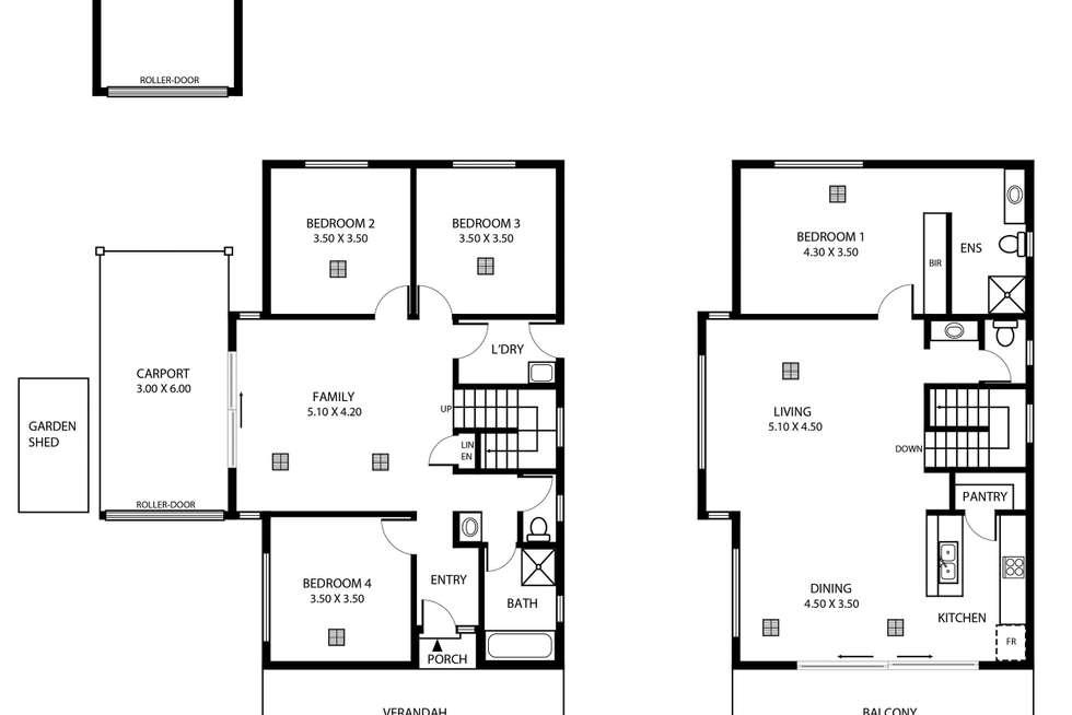 Floorplan of Homely house listing, 10 Lawrence Street, Goolwa North SA 5214