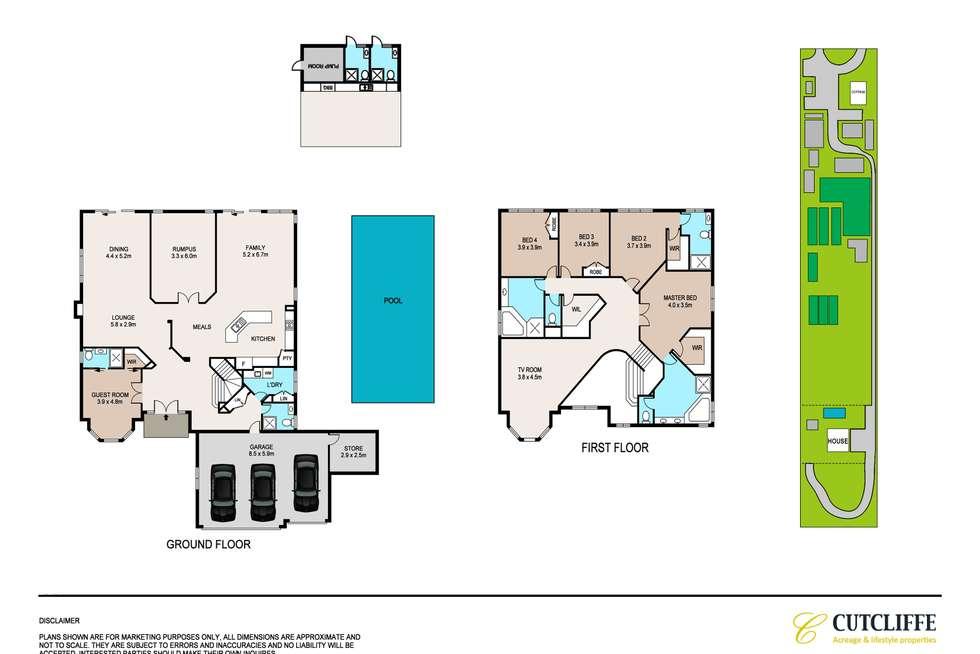 Floorplan of Homely acreageSemiRural listing, 817-821 Castlereagh Road, Castlereagh NSW 2749