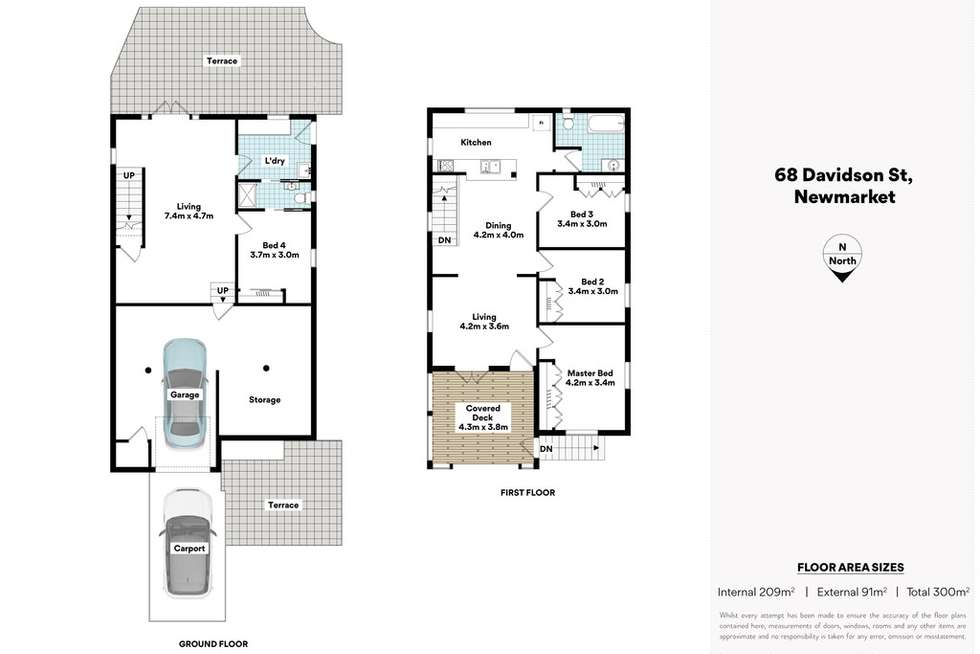 Floorplan of Homely house listing, 68 Davidson Street, Newmarket QLD 4051