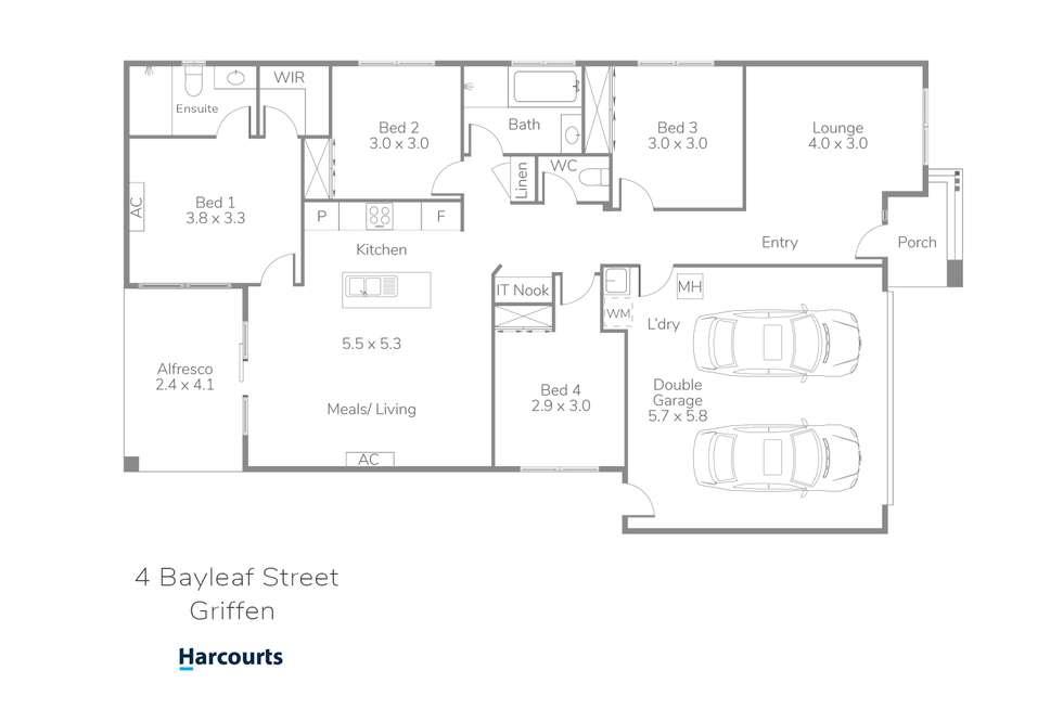 Floorplan of Homely house listing, 4 Bayleaf Street, Griffin QLD 4503