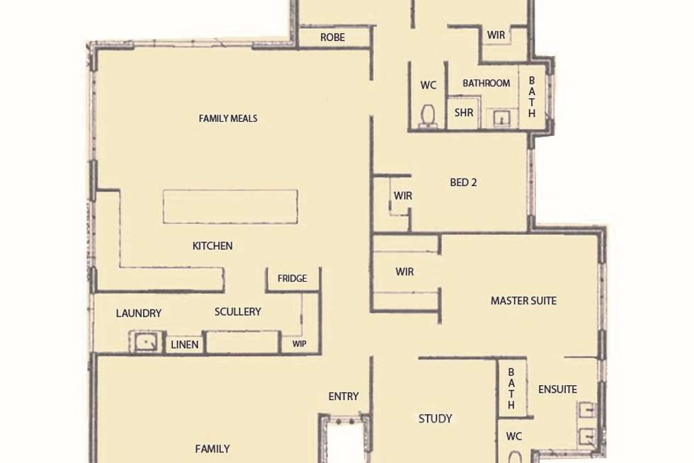 Floorplan of Homely house listing, 43 Lloyd Avenue, Ravenswood WA 6208