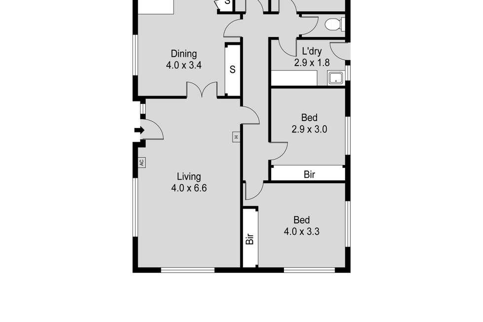 Floorplan of Homely house listing, 63 Outram Street, Summerhill TAS 7250
