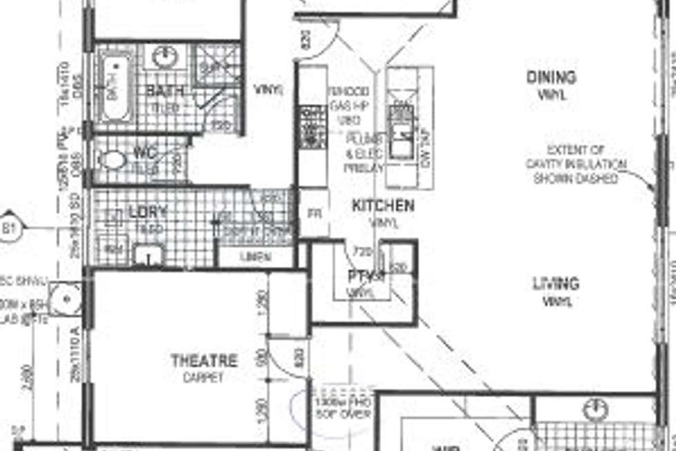 Floorplan of Homely house listing, 6 Derwent Street, Ellenbrook WA 6069