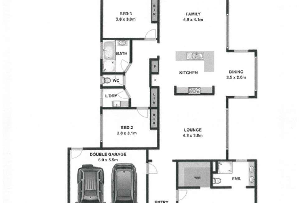 Floorplan of Homely house listing, 39 Victoria Cross Parade, Wodonga VIC 3690
