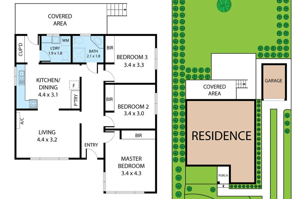 Floorplan of Homely house listing, 8 Mason Street, Newborough VIC 3825