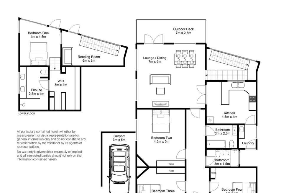 Floorplan of Homely house listing, 13 Sussex Street, East Launceston TAS 7250