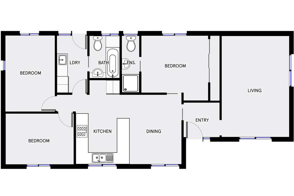 Floorplan of Homely house listing, 14 Amherst Street, Kambah ACT 2902